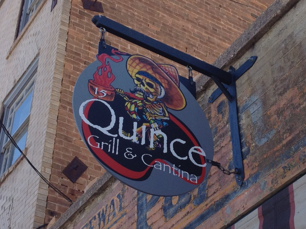 quince sign