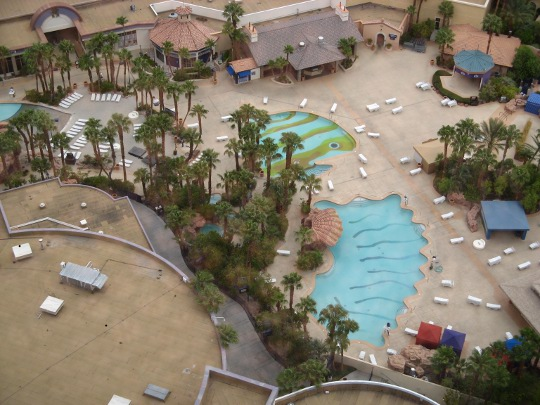 Pool area at the Rio