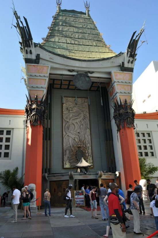 Grauman's Chinese Theater in Hollywood, part of the Trek Sites tour (photo courtesy of Teras Cassidy)