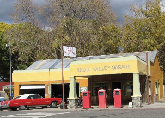 You can still 'fill 'er up' at Skull Valley Garage