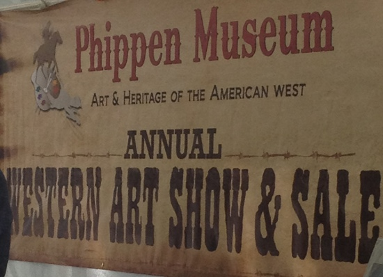 Phippen Museum benefits from the annual Memorial Day art show and sale